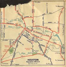 Chicago Toll Roads Map by Old Highway Maps Of Texas