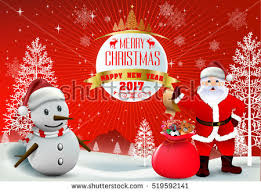 smiling snowman santa clause high detailed stock vector 521035042
