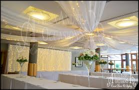 Ceiling Draping For Weddings Wedding Event Ceiling Drapes London Hertfordshire Essex