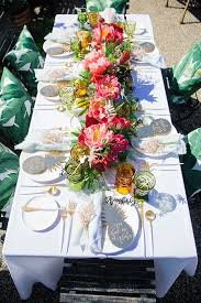 30 chic aloha tropical bridal shower ideas deer pearl flowers