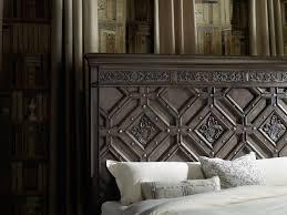 Vintage Bedroom Furniture For Sale by Hooker Vintage West Wood Panel Bed Mathis Brothers Furniture