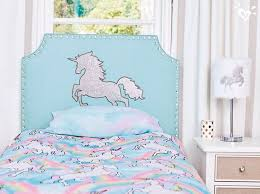 add magical style to her room with this sparkling unicorn