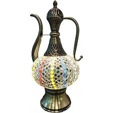 Home Decor Online Stores Turkish Moroccan Style Mosaic Table Lamp Damaceen Com