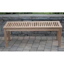 modern u0026 contemporary backless sofa bench allmodern