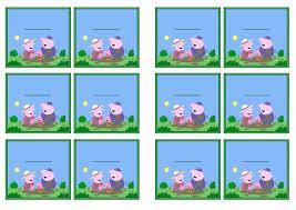 peppa pig name tags u2013 birthday printable
