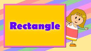 rectangle teach u0026 learn shapes for kids youtube