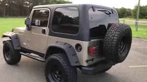 jeep wrangler 2 door hardtop lifted hard top 2 door 2004 jeep wrangler rubicon 4x4 with big