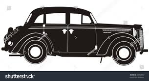 vintage cars vector vintage car silhouette more vector stock vector 28662550