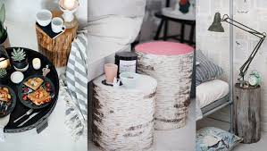 tree trunk bedside table inventive ways with bedside tables the french bedroom company