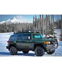 toyota fj cruiser toyota fj cruiser ranger rack multi light setup gobi racks
