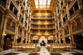 wedding venues in baltimore george peabody library venue baltimore md weddingwire