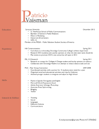 Sample Resume Objectives For Barista by Resume For Barista Bookseller Resume Samples Visualcv Resume