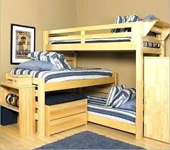 Three Person Bunk Bed Three Person Bunk Bed O2drops Co