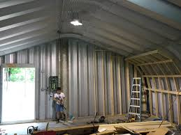 diy how to insulate a metal quonset hut please watch the series