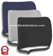 foam back support pillow upper back relief pillow