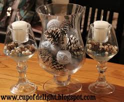 winter centerpieces swish decor in table decor ideas design your home then room table