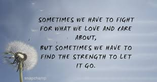 let it go fight for it or let it go quotes