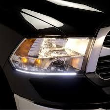 Putco Led Interior Lights Putco 290120tb Dodge Ram Switchback Led Dayliner Black 2009 2017