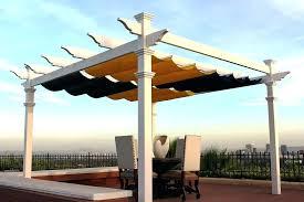 pergola retractable canopy outdoor goods