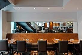 restaurant main dining room banquette interior design of bluestem