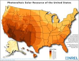 Map Of The Southern States Of America by Solar Maps Geospatial Data Science Nrel