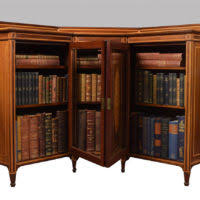 small bookcase with glass doors furniture oversized l shaped wood bookcase with ladder and arched