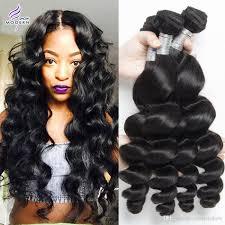Pure Virgin Hair Extensions by Cheap Modern Show 4 Bundles Brazilian Loose Wave Human Hair