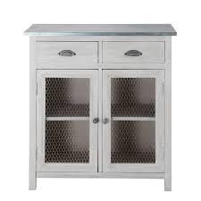 meuble cuisine zinc charmant meuble cuisine zinc avec garde manger zinc cuisine deco