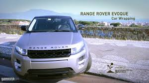 wrapped range rover evoque range rover evoque car wrapping by guerrerastyle com youtube