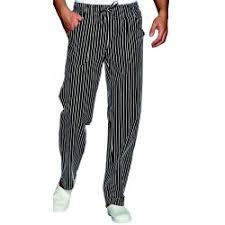 pantalon de cuisine homme pantalon de cuisine pas cher à partir 15 90 ht homme et femme lisavet