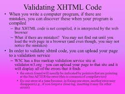xhtml basics web pages used to be written exclusively in html