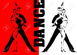a couple dancing tango cartoon clipart vector toons 8 362 dance studio cliparts stock vector and royalty free dance