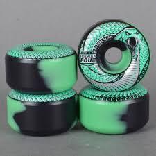 formula 4 spitfire spitfire wheels snake bites 101d radial slims mint black formula