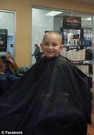 pictures of salon hairstyles for 8 yr old girl pennsylvania girl shaves off her hair in support of cousin
