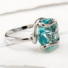 rings with crystal images Singolo ring with color octagon swarovski crystal rhodium jpg