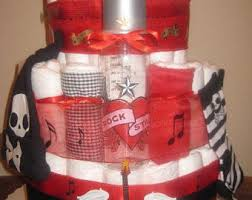music diaper cake etsy