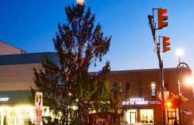 christmas tree america christmas lights decoration