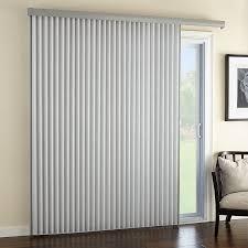 Patio Door Vertical Blinds Premier 2 Light Filtering Vertical Cellular Traditional