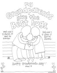 grandparents day coloring pages avedasenses com