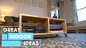 make your own diy coffee table indoor great home ideas youtube