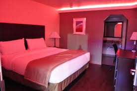 Red Lighting King Suite With Red Lighting Picture Of Trinity Suites Downtown