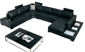 Top Grain Leather Living Room Set by Italian Leather Furniture Sofa Sectional Complete Living Room Set