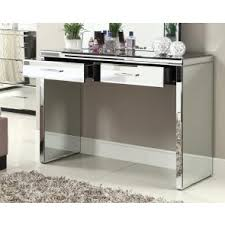 mirrored console vanity table rio mirrored console hallway dressing table mirror furniture