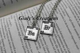 necklace 2 in 1 breaking bad bromine and barium elements chemical