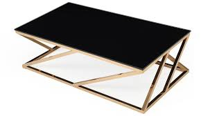 modern gold table l black and gold coffee table writehookstudio com
