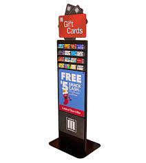 gift card display gift card merchandiser in store merchandising solutions