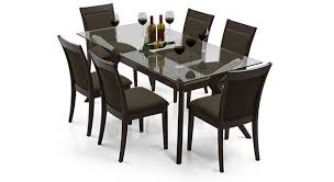 dining table set low price wesley dalla 6 seater dining table set urban ladder