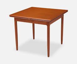 Draw Leaf Dining Table Modern L A Johannes Andersen Draw Leaf Dining Table For