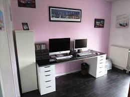 bureau diy notre bureau de travail plan diy a partir meubles ikea besta ikea