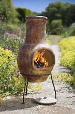 Large Terracotta Chiminea Clay Chimeneas Ebay